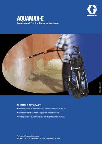 AQUAMAX-E - Professional Electric Pressure Washers