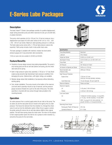 E-Series Pneumatic Pumps
