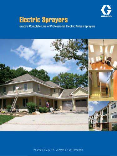 Electric Sprayers Brochure