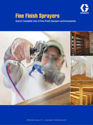 Fine Finish Sprayers Brochure
