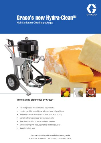 Graco's new Hydra-CleanTM