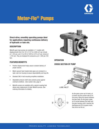 Meter-Flo Pumps