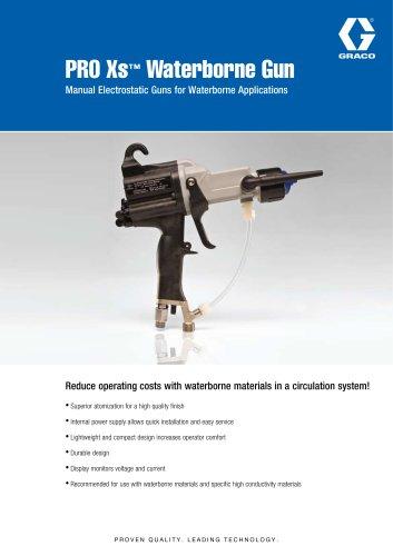 PRO Xs™ Waterborne Gun Manual Electrostatic Guns for Waterborne Applications