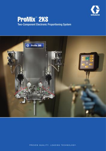 ProMix™ 2KS Two-Component Electronic Proportioning System