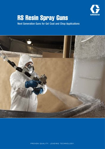 RS Resin Spray Guns