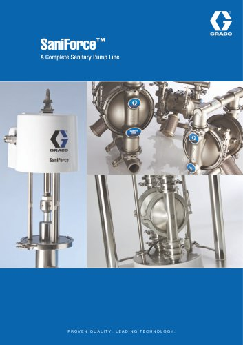 SaniForce A Complete Sanitary Pump Line