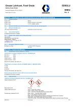 * SDSGLUENEU-A Grease Lubricant, Food Grade