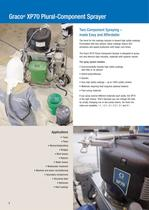 XP70 plural component sprayer for protective coatings - 2