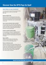 XP70 plural component sprayer for protective coatings - 4