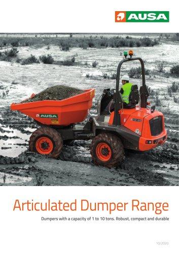 Articulated Dumper Range
