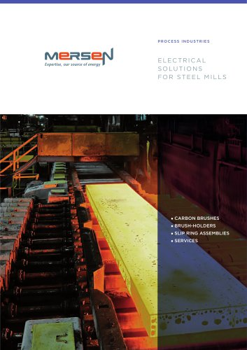 Electrical solutions for steel mills