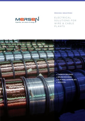 Electrical solutions for wire & cable plants