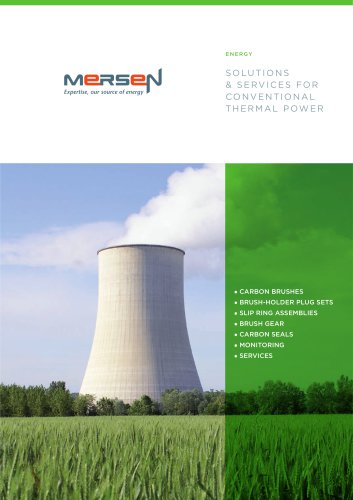 Solutions & services for conventional thermal power