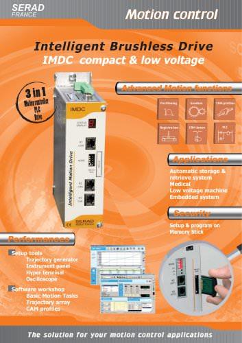 Brushless Drives IMDC Series