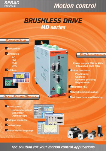 Brushless Drives MD Series