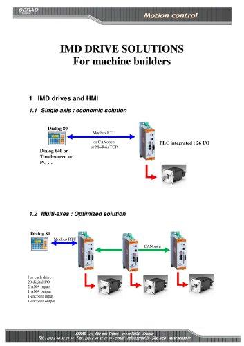 Servo motion solution
