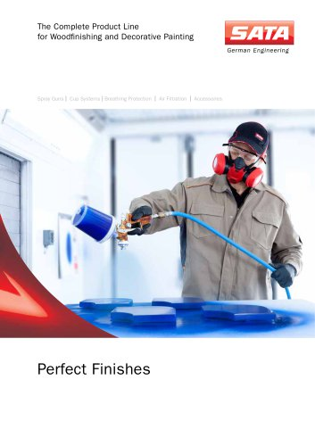 Perfect Finishes - The Complete Product Line for Woodfinishing and Decorative Painting