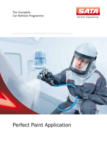 Perfect paint application - The complete car refinish programme