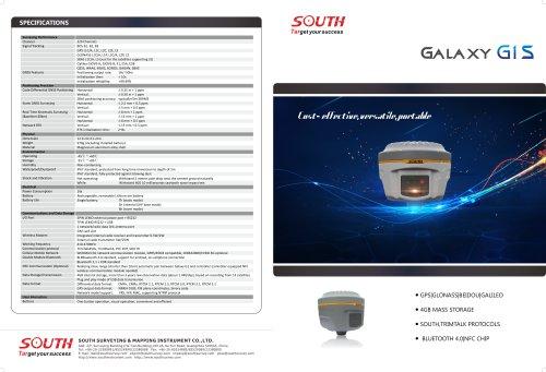 GPS GLONASSI BEIDOU GALILEO SOUTH Galaxy G1S Bluetooth
