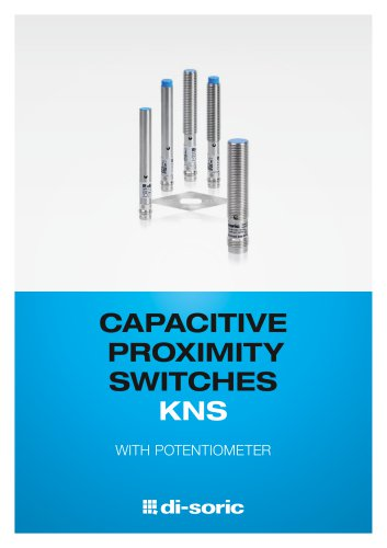 CAPACITIVE PROXIMITY SWITCHES KNS