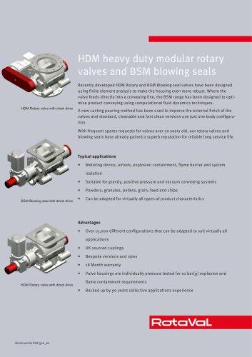 HDM and BSM valves