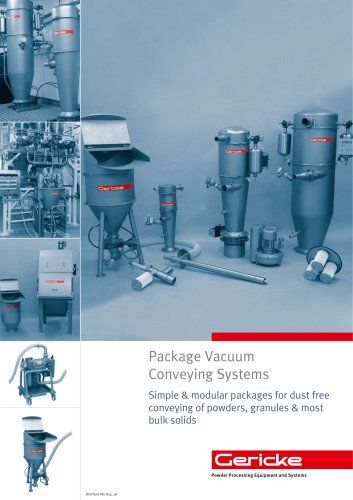 Package vacuum conveying system