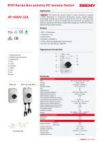 BYH Series Non-polarity DC Isolator Switch