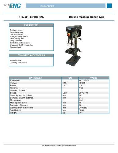 FTX-20-TS PRO R+L