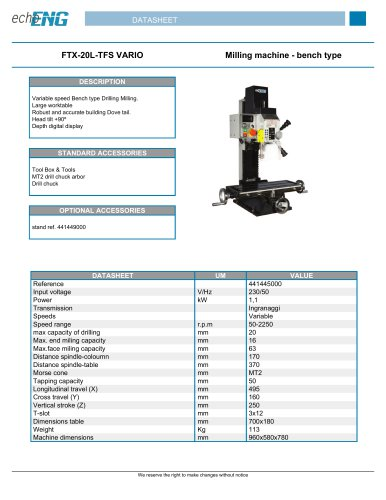 FTX-20L-TFS VARIO
