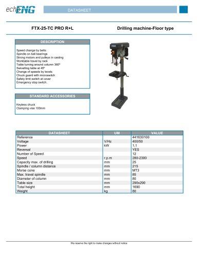 FTX-25-TC PRO R+L