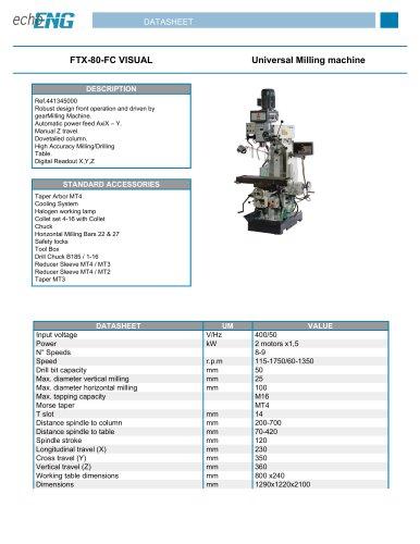 FTX-80-FC VISUAL