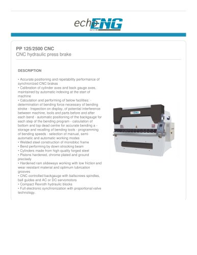 PP 125 CNC