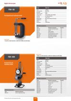 Portable Brinell hardness tester - 3