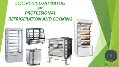Electronic control systems for professional hot and cold