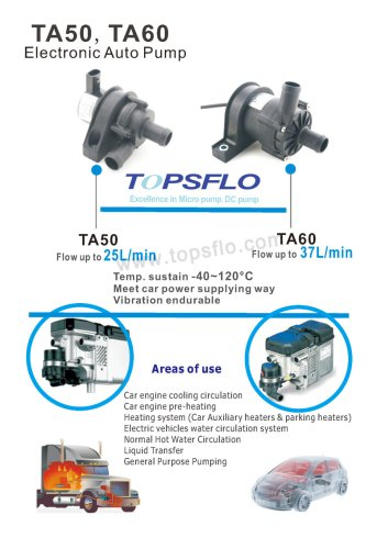 TA50 Electronic auto pump