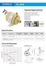 TL-A02H High temperature mini water pump