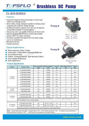 TL-B10 brushless-dc-pump