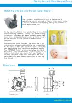 TL-C01H Electric Instant Water Heater Pump - 3