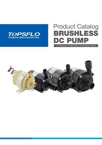 TOPSFLO12v 24v brushless dc water pump