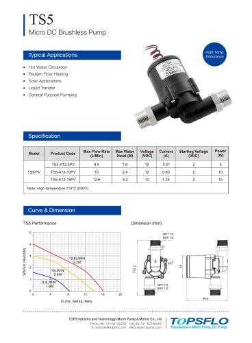 TS5 Micro DC Brushless Pump