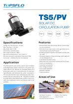 TS5 solar dc water pump,hot water circulation pump - 1
