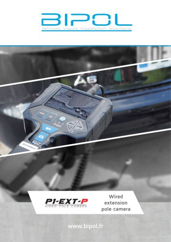 Wired video pole camera BIPOL