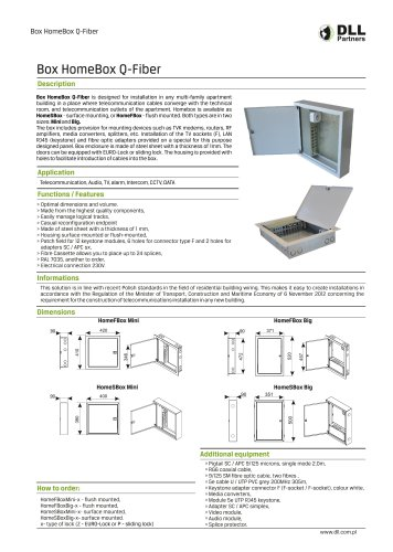 Box HomeBox Q-Fiber