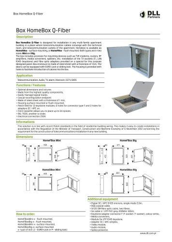 Box HomeBox Q-Fiber