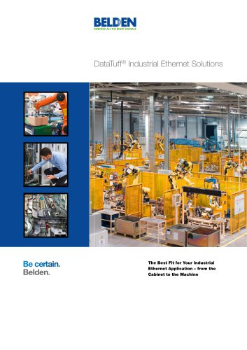 DataTuff® Industrial Ethernet Solutions