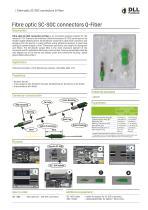Fibre optic SC-SOC connectors Q-Fiber - 1