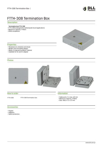 FTTH-308 Termination Box