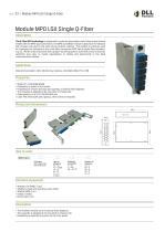 Module MPO LGX Single Q-Fiber - 1