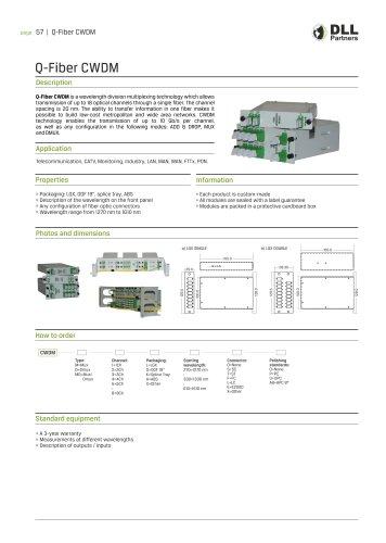 Q-Fiber CWDM