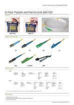 Q-Fiber Pigtails and Patchcords G657.B3 - 2